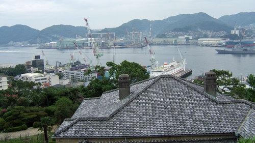 長崎グラバー園より港を臨む