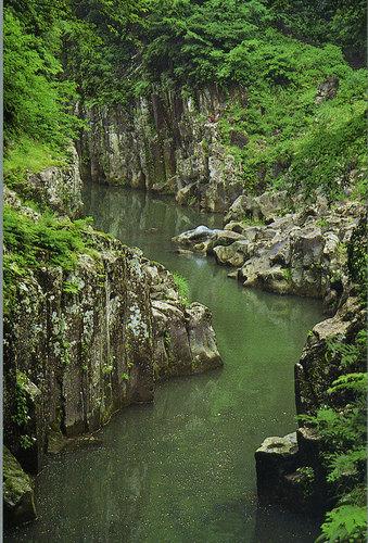 高千穂峡・真名井の滝上渓谷
