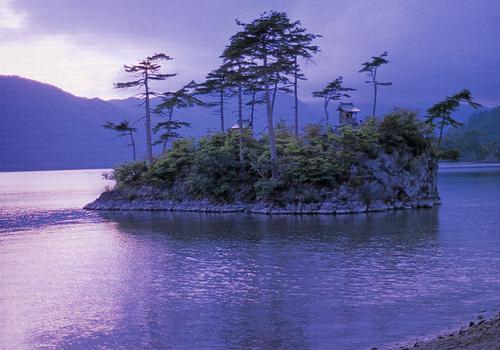 十和田湖暮色