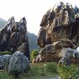 大自然が造った迫力の石柱群